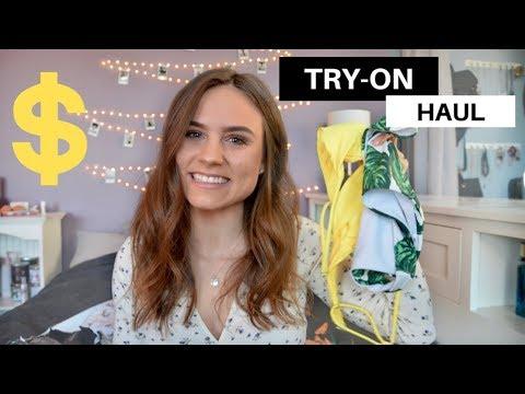 TRY-ON bikini haul under $20!! + Romwe review
