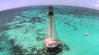 Alligator Reef Lighthouse in Islamorada, Florida