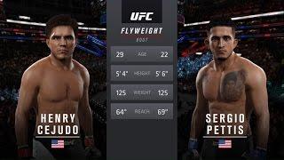 UFC 2 - Генри Сехудо против Серджио Петтиса