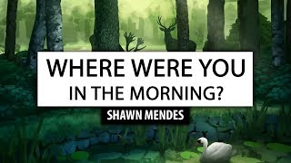 Shawn Mendes ‒ Where Were You In The Morning? [Lyrics] 🎤