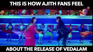 Fans Reaction SRK Remix - Vedalam
