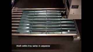 Manual Load Laser Marking System Configured for Marking Hardened Steel