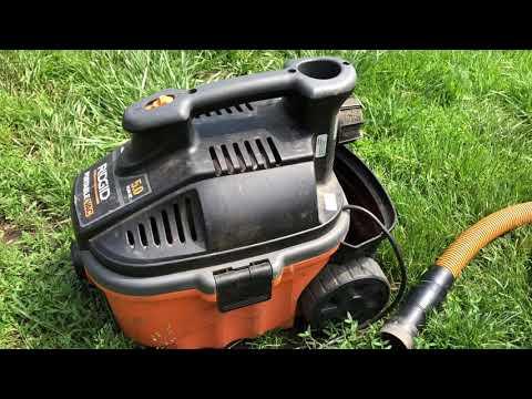 The Best Ridgid Vacuum Just Died!