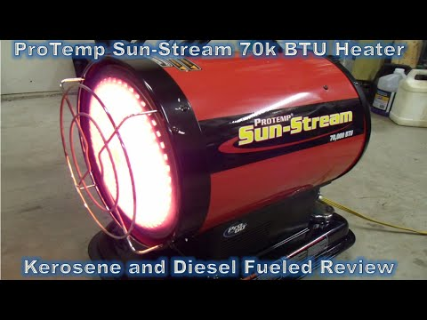 Protemp Kerosene / Diesel Heater Review PT-70-SS - Part 1