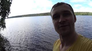 Рыбалка на мичуринском озере с берега