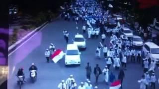 Demo Umat Islam Di Surabaya Tuntut Penjarakan Ahok