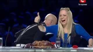 Самое смешное на Украина мае таланте)))