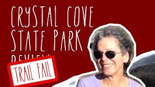 preview picture of video 'Crystal Cove State Park Trail Fail (Newport Beach, CA)'