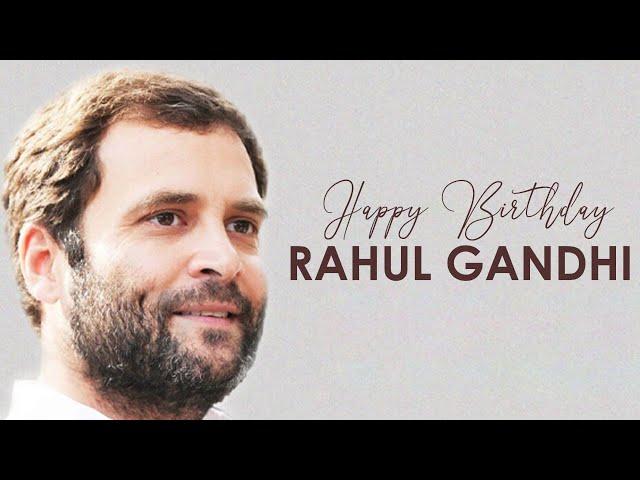 51 साल के हुए वायनाड सांसद Rahul Gandhi