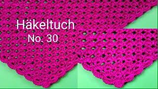 Stola Netzwerk Häklen Woolly Hugs Mohair Booble Schal Super