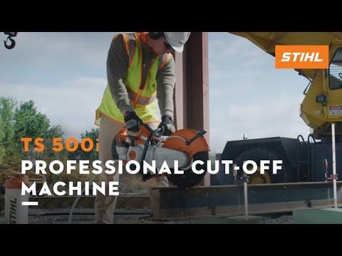 Stihl TS 500i STIHL Cutquik® in Mio, Michigan - Video 2