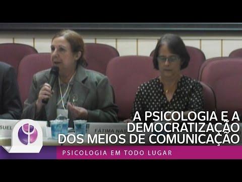 A PSICOLOGIA E A DEMOCRATIZAÇÃO DOS MEIOS DE COMUNICAÇÃO