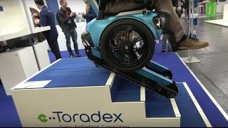 SCEWO stairclimbing wheelchair from ETH Zurich using Toradex at Embedded World 2017