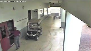 New surveillance video shows deputy outside during Parkland school massacre