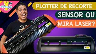 Plotter De Recorte Profissional: Mira Laser Ou Sensor Automático?