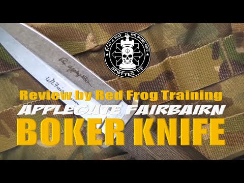 Navy SEAL Reviews Boker Applegate Fairbairn Knife Mp3