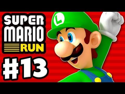 Super Mario Run Walkthrough - Part 12 - World 6 All Purple Coins