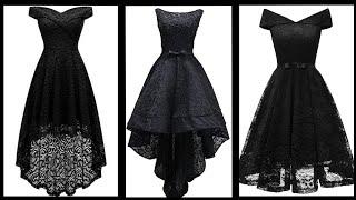 Breathtaking Black Lace Dresses For Party Wear 2020 || Amazing Ideas Of Black Lace Dresses 2k20