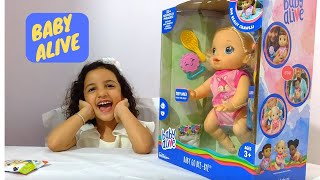 Crawling Baby Alive Baby Go Bye-Bye Doll Unboxing Video....
