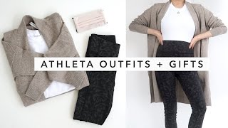 ATHLETA Outfits +  Holiday Gift Ideas   Athleta Try On Haul 2020   Miss Louie