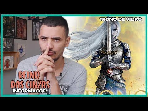 INFORMAÇÕES SOBRE REINO DAS CINZAS (KINGDOM OF ASH)  | PATRICK ROCHA (TRONO DE VIDRO #20) (4x105)
