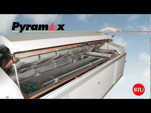BTU Pyramax Convection Reflow Oven