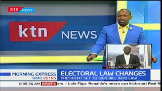 The procedure for electoral law changes as controversial bill get passed by national assembly