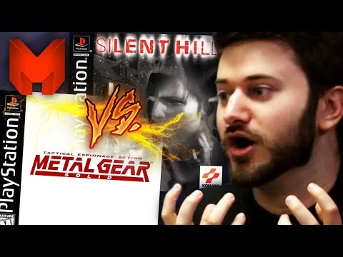 """PS1 """" METAL GEAR SOLID + DEMO SILENT HILL """" COMPLET, COMME NEUF !!"""