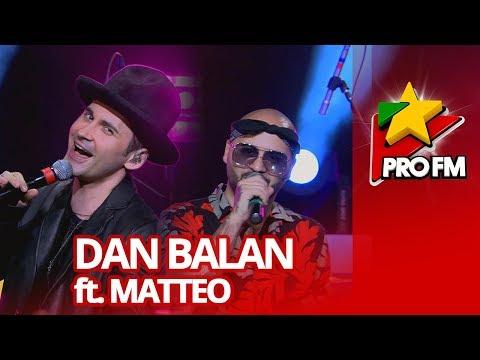 Dan Balan - Allegro Ventigo (feat. Matteo)   ProFM LIVE Session