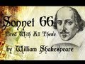 William Shakespeare - Sonnet 66 - Tired Of With ...