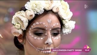 Cukorkoponya smink Halloweenre! - tv2.hu/fem3cafe