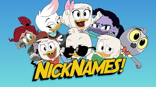 Ducktales, But It's Just the Kids' Nicknames and Other Titles [Updated]