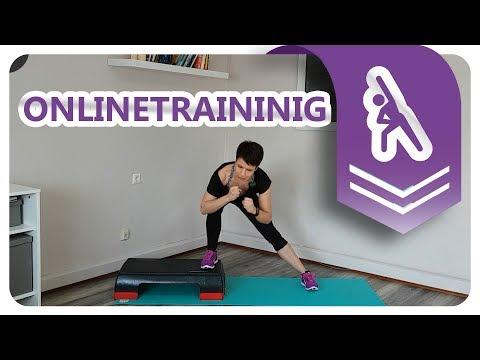 22min Fitness | Workout mit Step Brett