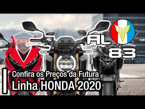 Saiba os preços da futura linha Honda 2020