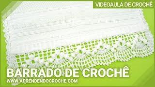 Barrado de Croche Dançarinas – Aprendendo Crochê