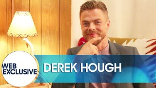 Derek Hough Would Love to Sneeze Tiny Giraffes