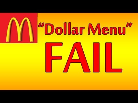 ♦ McDonalds Dollar Menu Special ♦ The Fast Food Review ♦