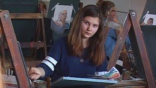 Конкурс юных художников.