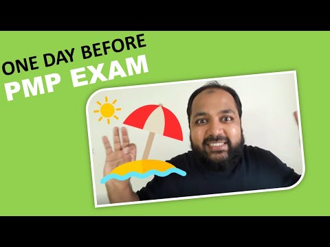 One day before PMP Exam (Dos and Don'ts)   PMP certification ...