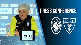 7ª Serie A TIM | Atalanta-Lecce, la conferenza stampa di Gian Piero Gasperini