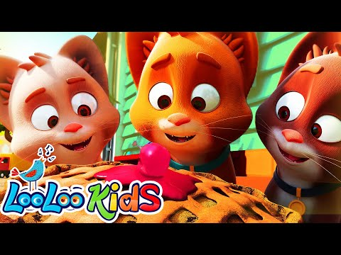 🐱Three Little Kittens -  LooLooKids Nursery Rhymes and Kids Songs