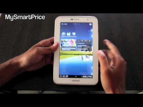 Samsung Galaxy Tab 2 7.0 Inch P3100 Review - MySmartPrice