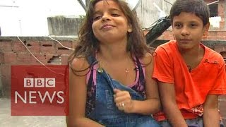 'They Smoke Crack...' Being 11 In A Rio Favela   BBC News