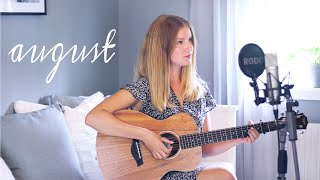 august - Taylor Swift (cover by Cillan Andersson)
