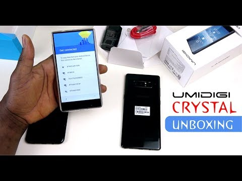 Umidigi Crystal Unboxing & Impression