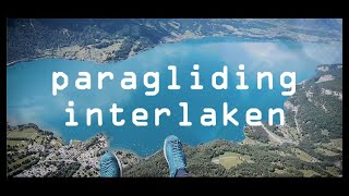 🪂 How and where paragliding in Switzerland. Paradise Interlaken. Flying in the swiss Alps. Woow