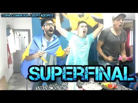 Boca 2 River 2 | SUPERFINAL IDA Copa Libertadores 2018 | Reacciones de Amigos