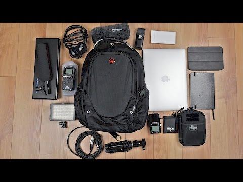Robuster Laptop Rucksack mit DIEBSTAHLSICHEREM Fach im Test! // DEUTSCH