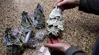 Easy DIY Holiday Christmas Money Tree Gift