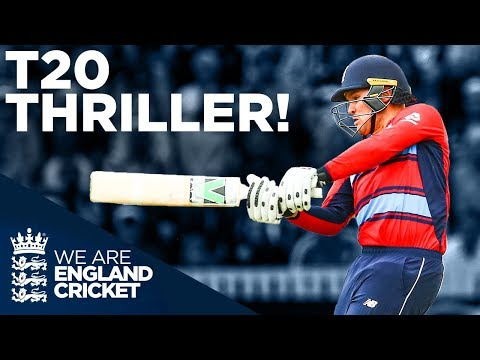 LAST BALL Thriller!   England v South Africa 2017 T20 Classic   England Cricket 2020